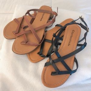 Sandals from Tillys